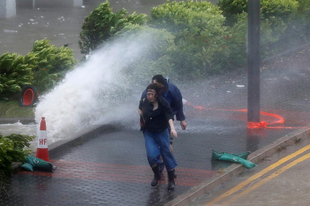 Tajfun Hato v Hong Kongu