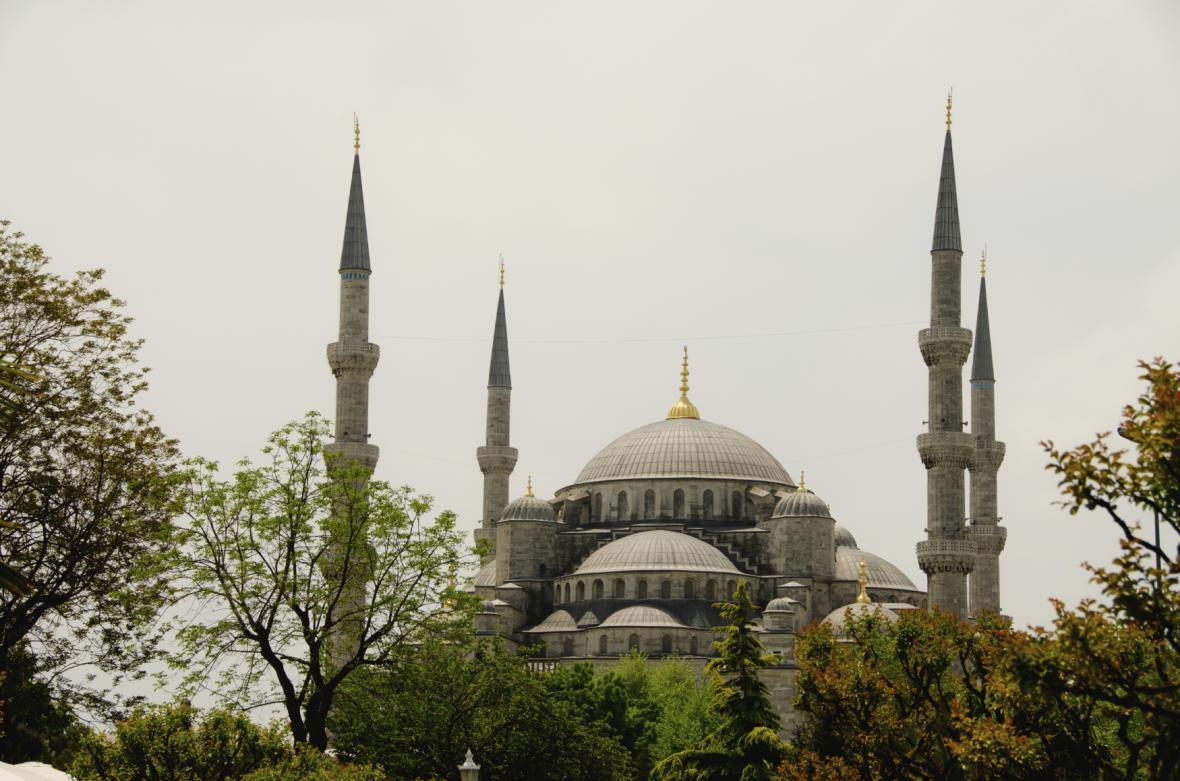 Mešita Hagia Sofia v Istanbulu