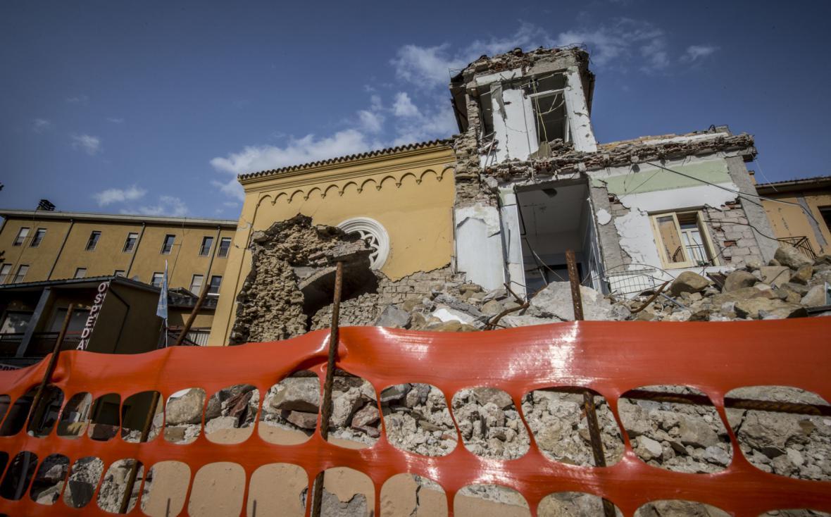 Rok po zemětřesení v Amatrice