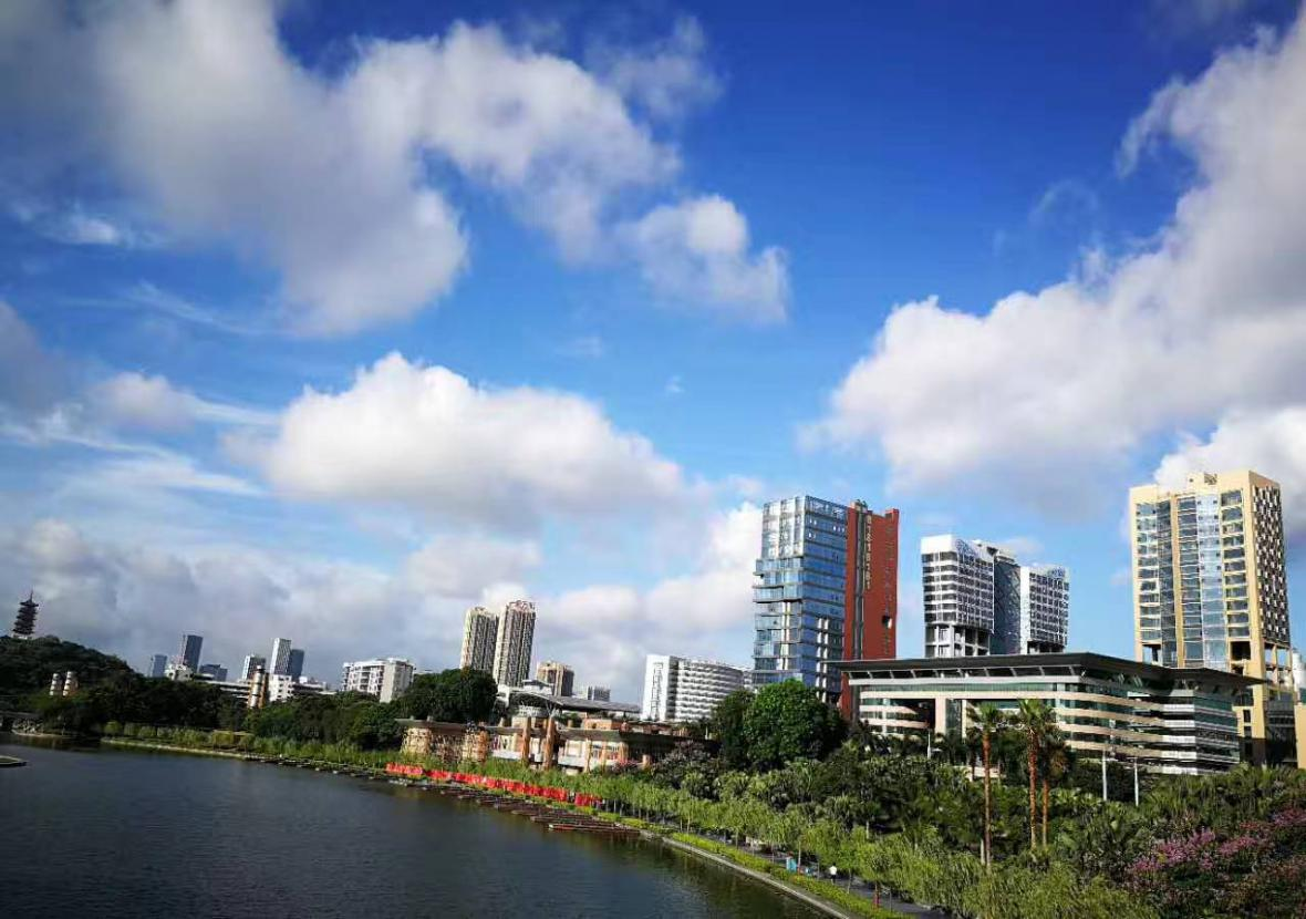 Komplex v čínském městě Fo-šan podle návrhu Bořka Šípka
