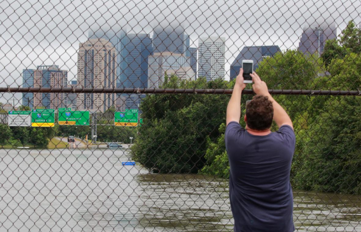 Bouře Harvey pustoší Texas