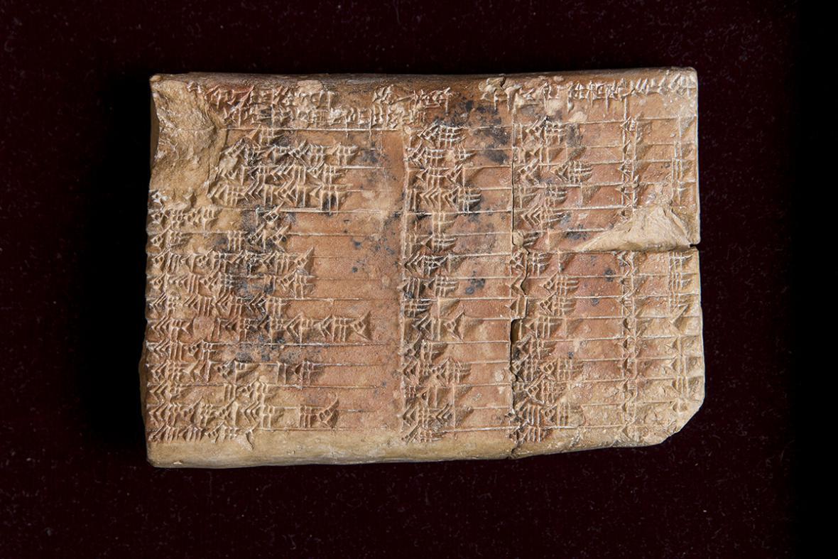 Hliněná tabulka Plimpton 322