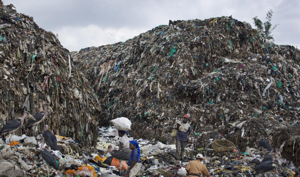 Problém plastových sáčků v Keni