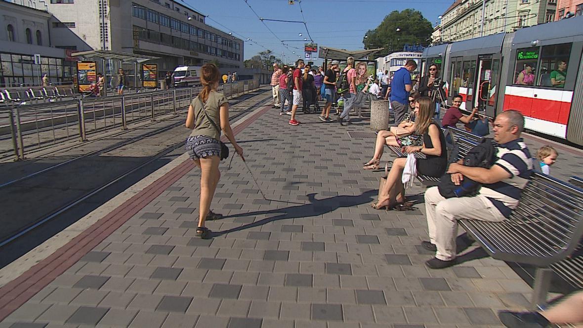 Dopravní podnik udělal chybu při opravě nástupiště