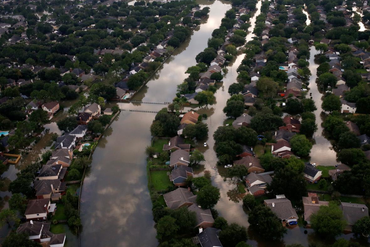 Následky bouře Harvey