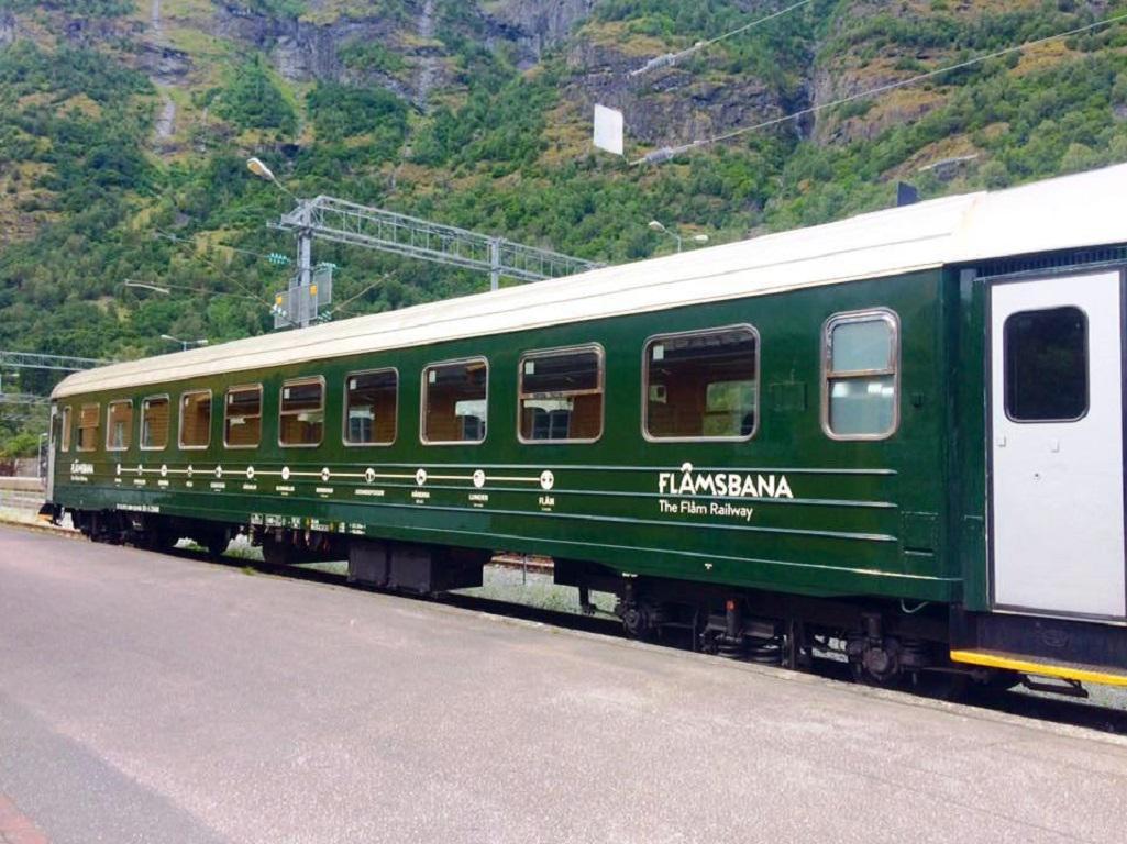Z Flamu do Myrdalu po nejstrmější železnici