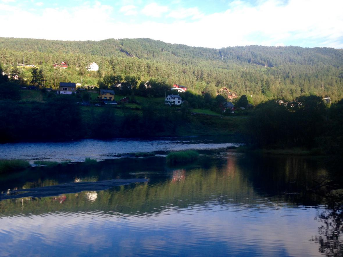 Cesta z Bergenu do Vossu