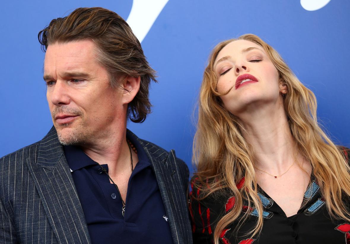 Filmové hvězdy na festivalu v Benátkách
