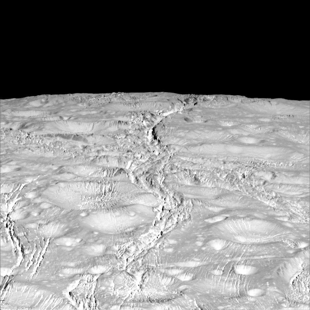 Severní pol Enceladu