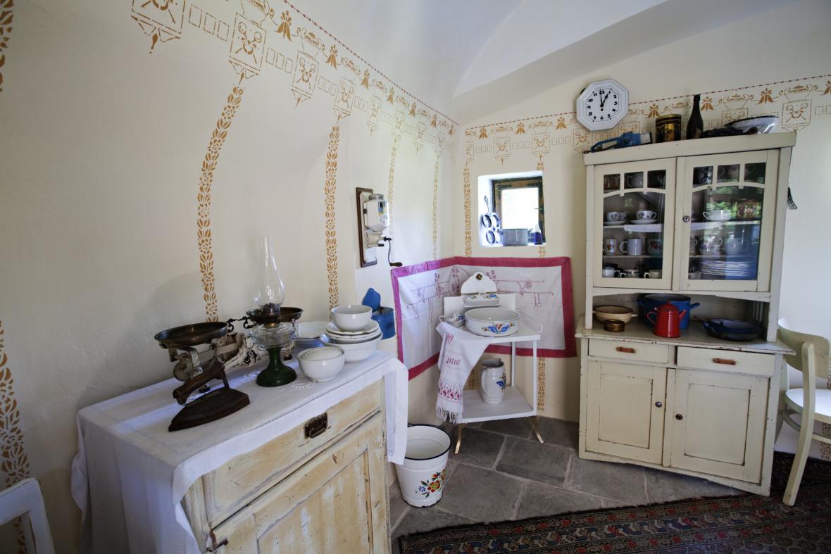 Kuchyně domu čp. 14