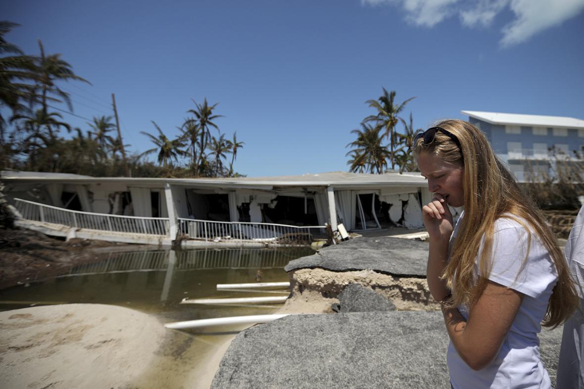 Následky hurikánu Irma