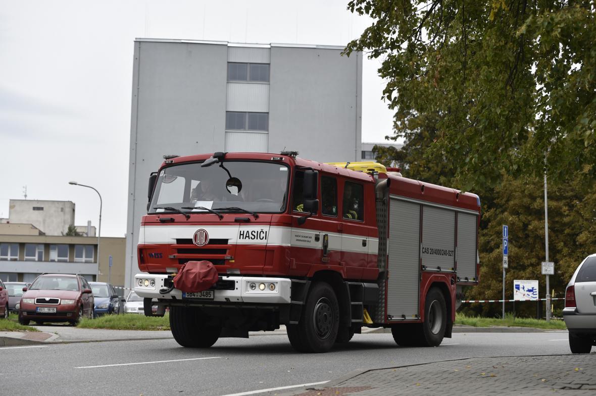 Výbuch na vojenské ubytovně ve Vyškově