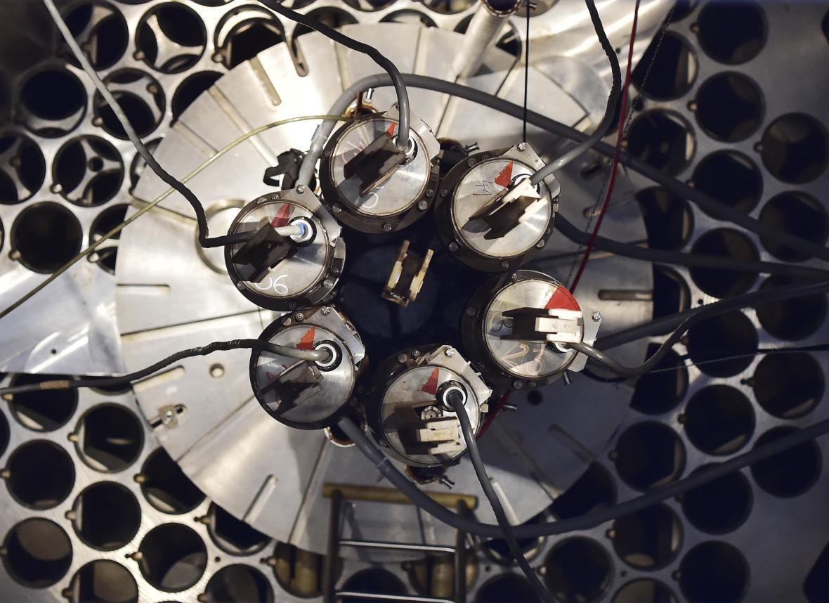 Odstavený jaderný reaktor