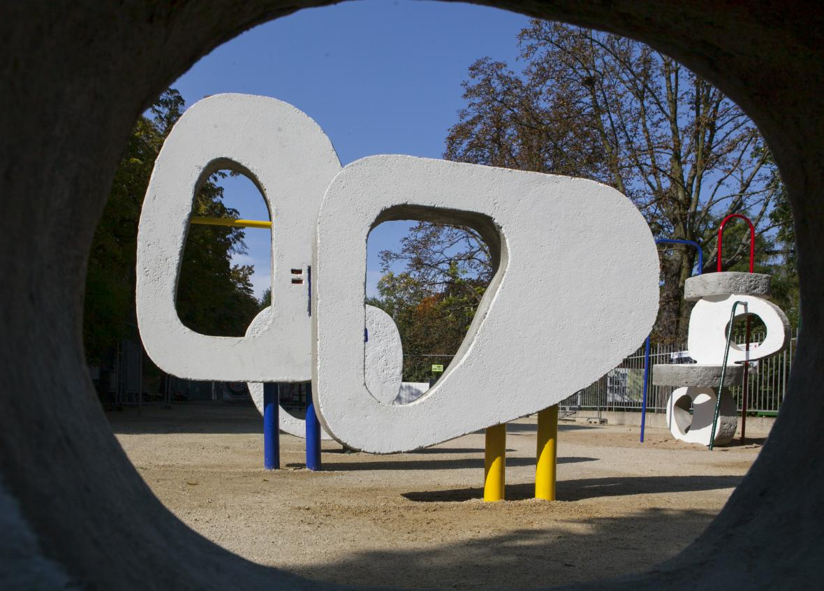 Dětské hřiště dle Olbrama Zoubka