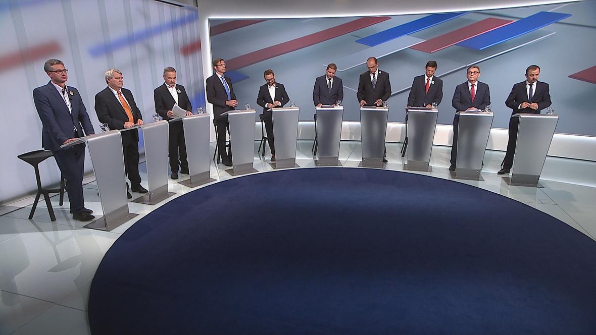 Předvolební debata ČT24: Téma zahraniční politika
