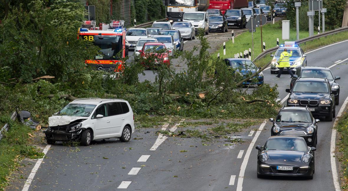 Bouře Xavier řádí v Německu