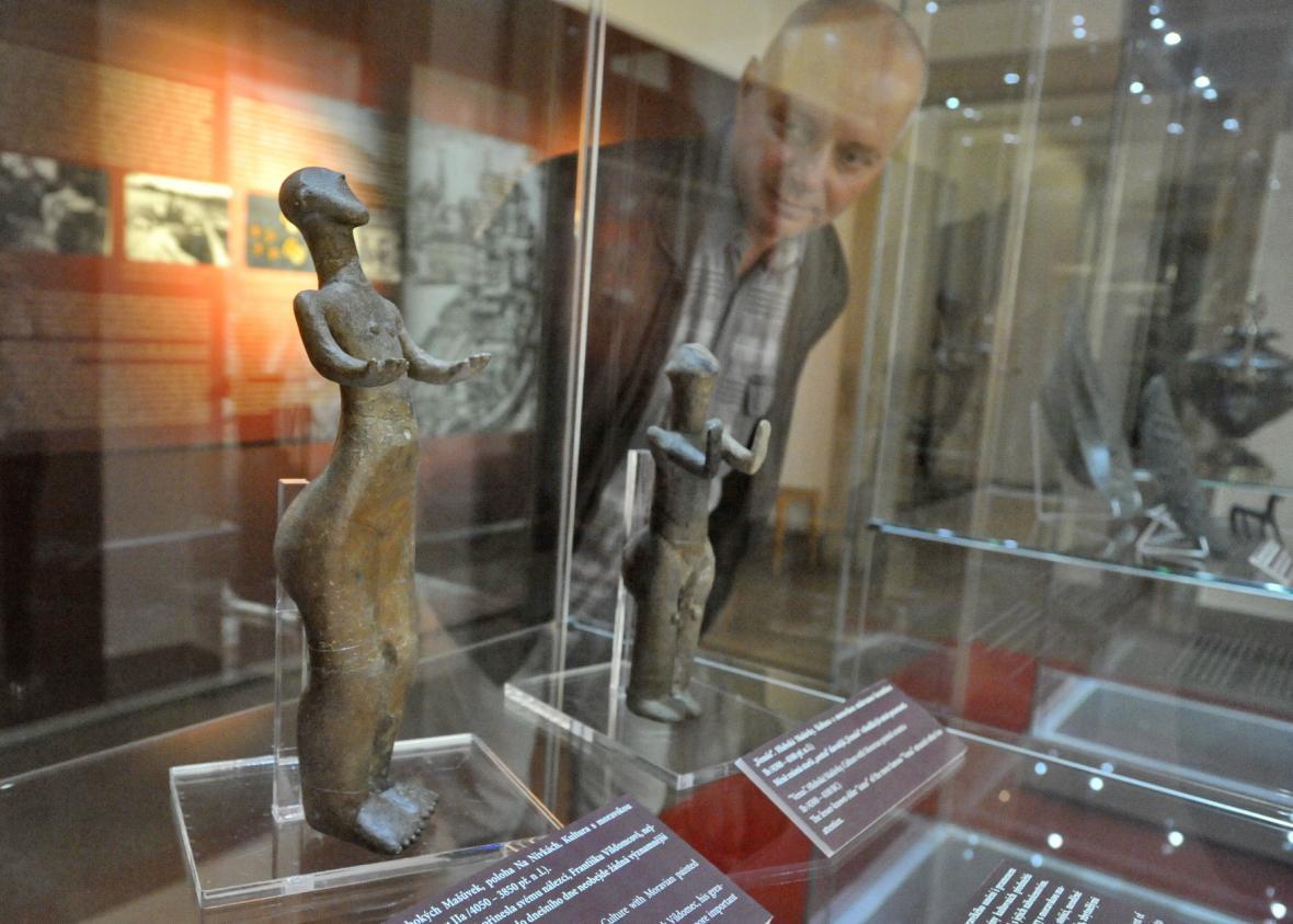 Vzácné archeologické exponáty Moravského zemského muzea