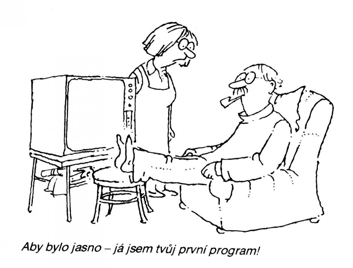 Český kreslený humor od 60. let po současnost v českobudějovické galerii Hrozen