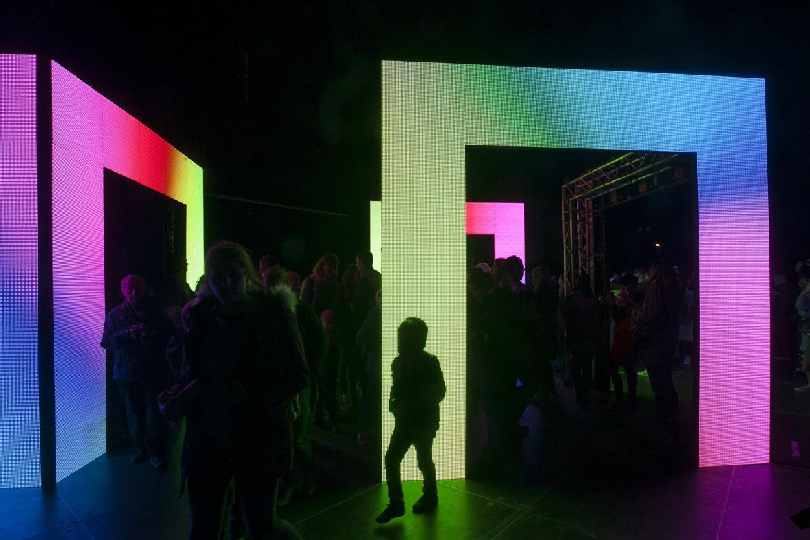 Festival Signal 2017: Axiom (Náměstí Jiřího z Poděbrad)