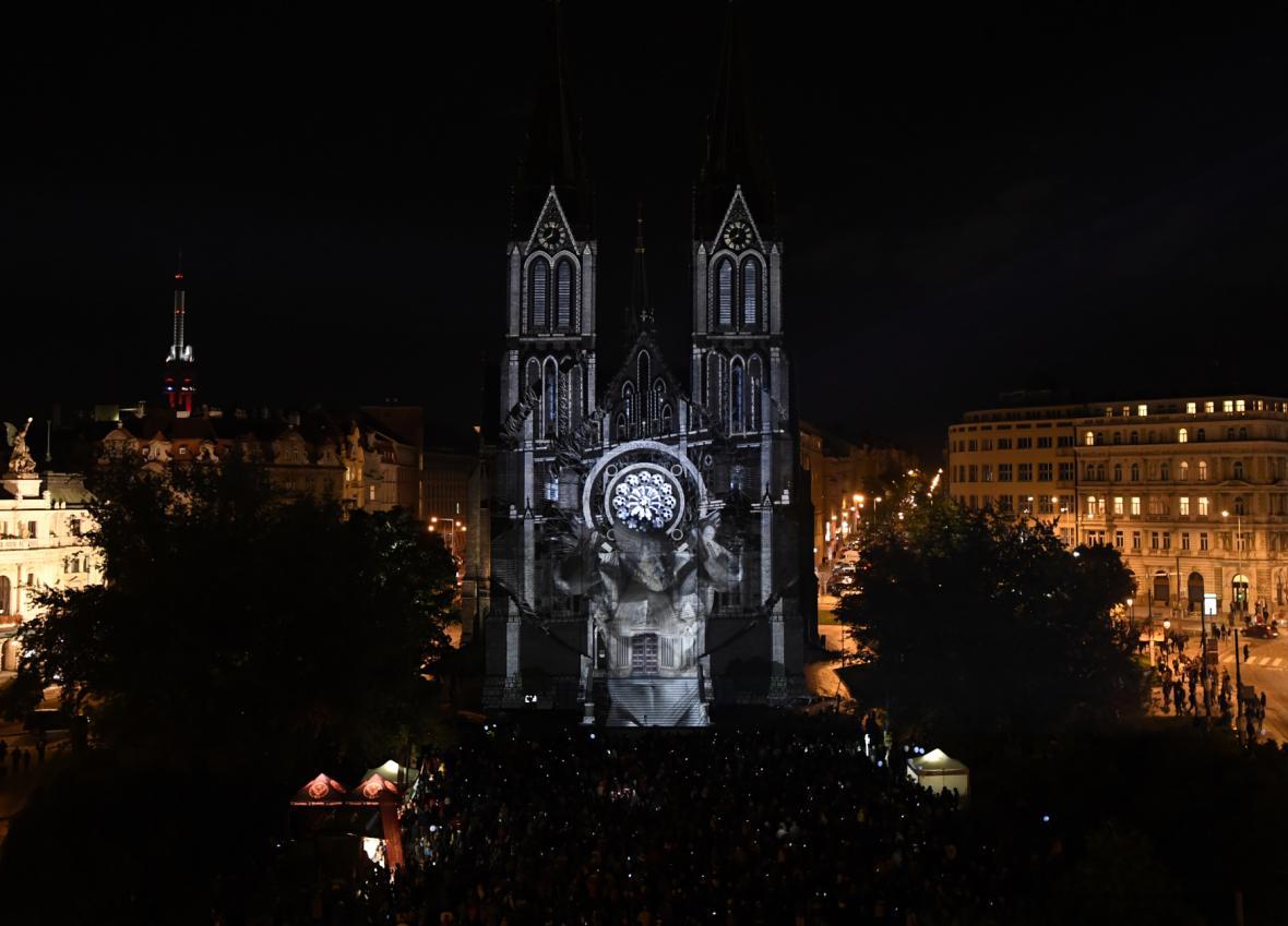 Festival Signal 2017: Caryatids (náměstí Míru)