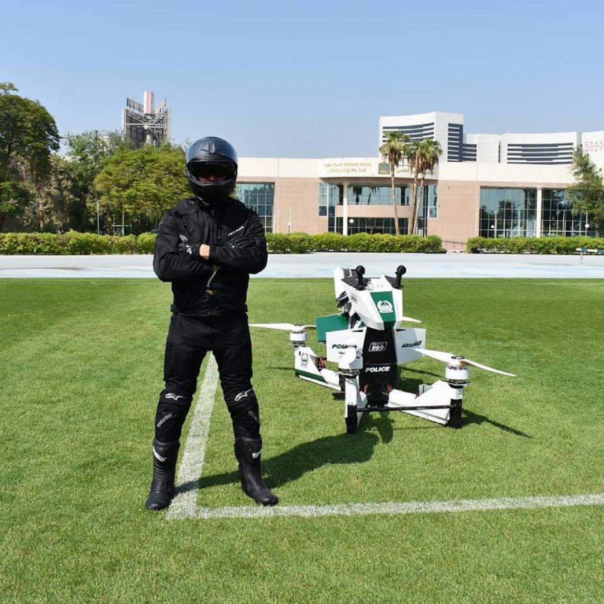 Létající motorky pro Dubaj