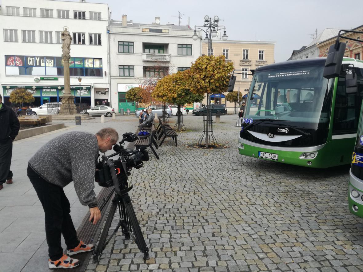 Elektrobusy v Hranicích
