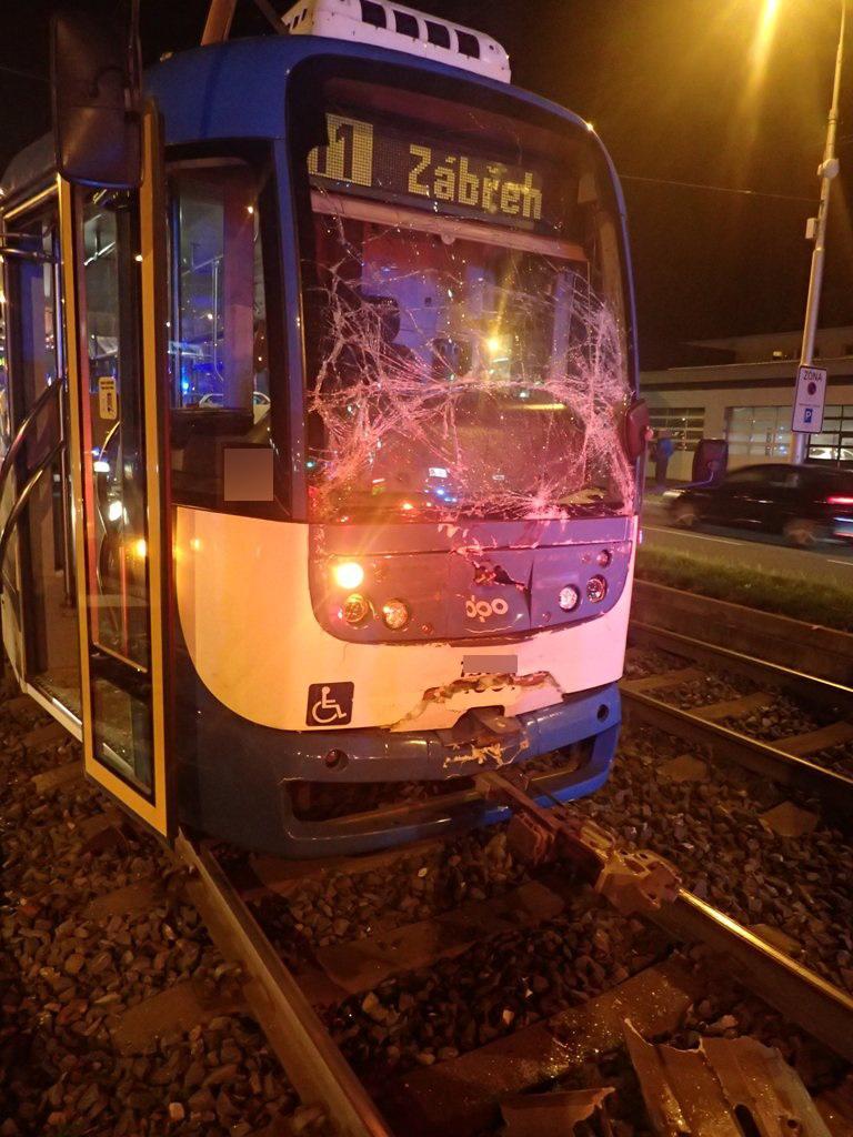 Srážka tramvají