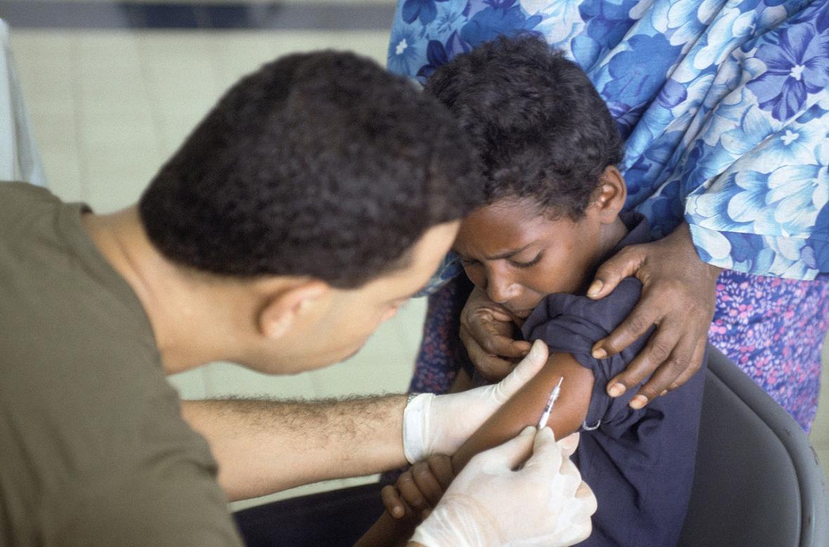 Očkování proti obrně v Somálsku
