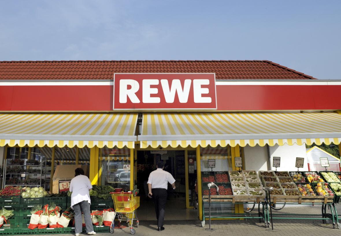 Německý obchodní řetězec Rewe