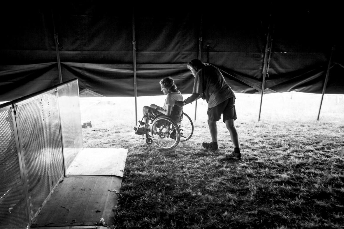Nominace na první cenu Czech Press Photo 2017 v kategorii Aktualita (série).