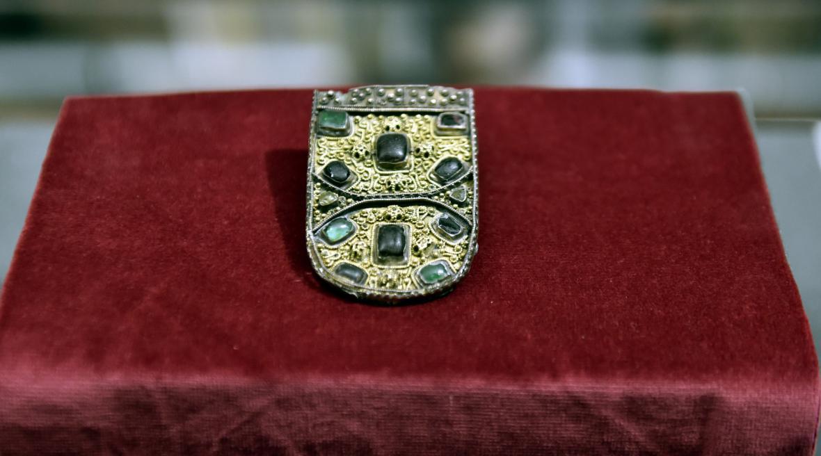 Výstava vzácných šperků z období Velké Moravy