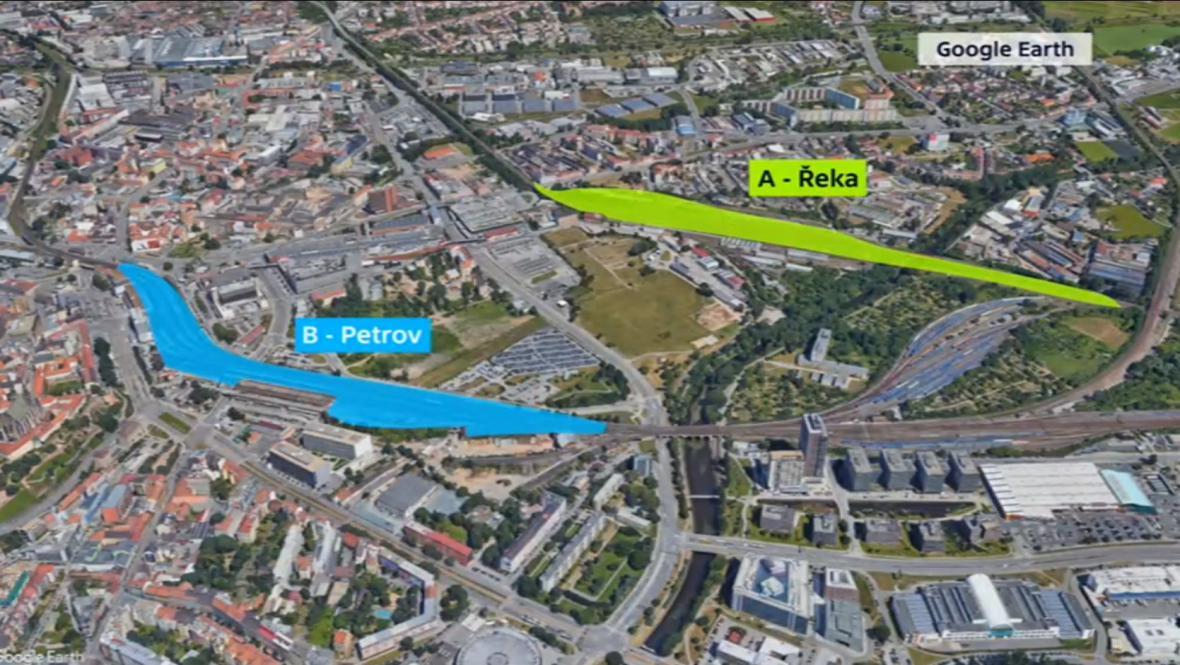 V Brně se rozhodne mezi dvěma variantami přesunu nádraží