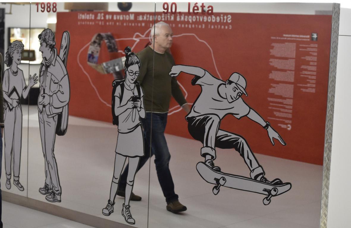 Výstava Středoevropská křižovatka – Morava ve 20. století