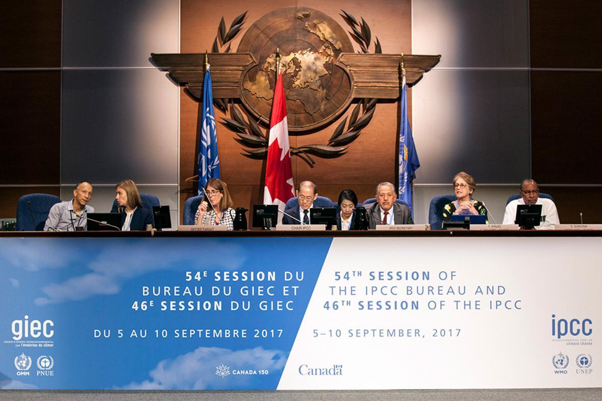 Zářijové plenární zasedání IPCC v Montrealu