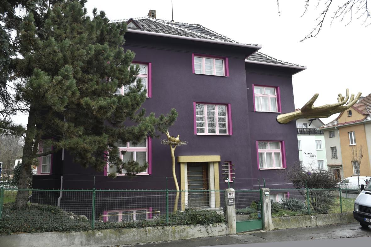 Dům Lubo Kristka v Brně