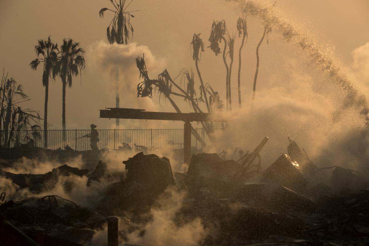 Požáry v Kalifornii