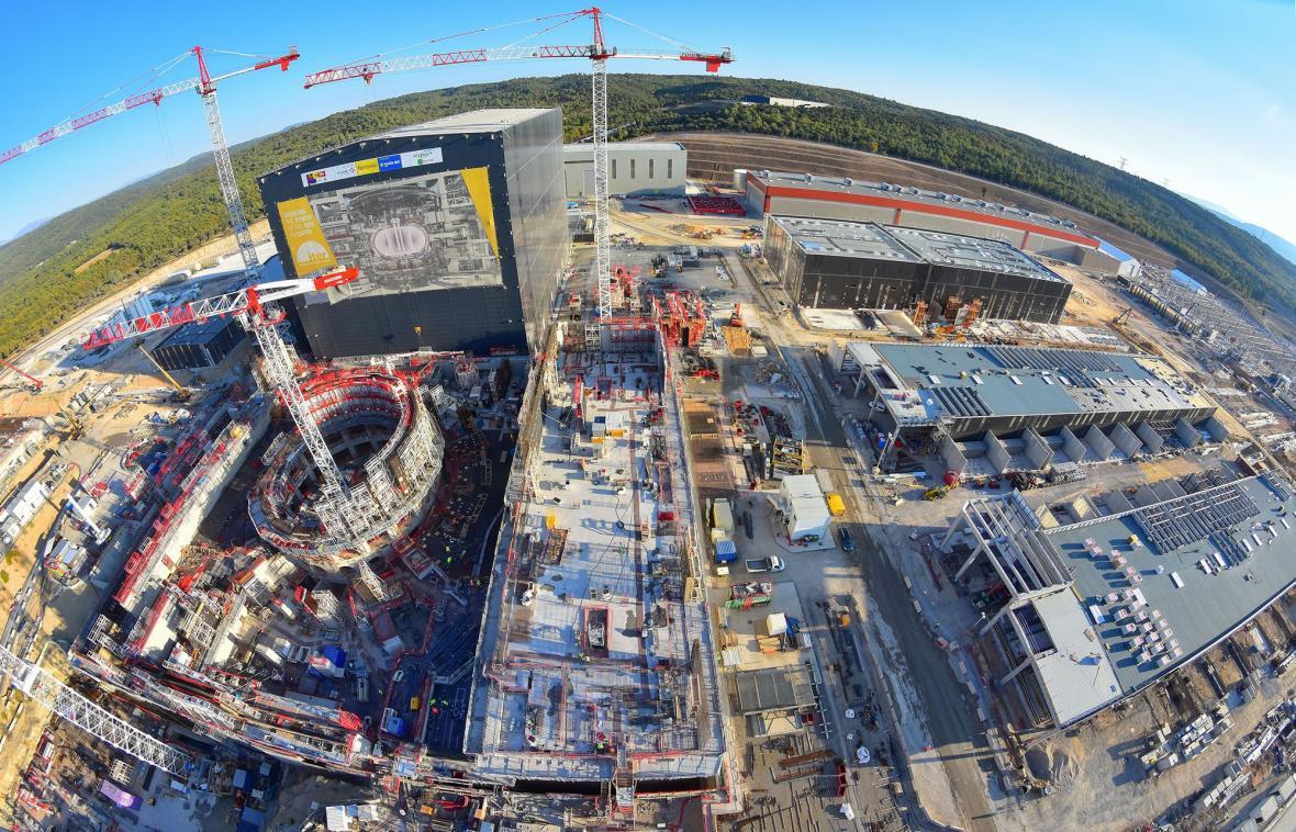 ITER v roce 2017