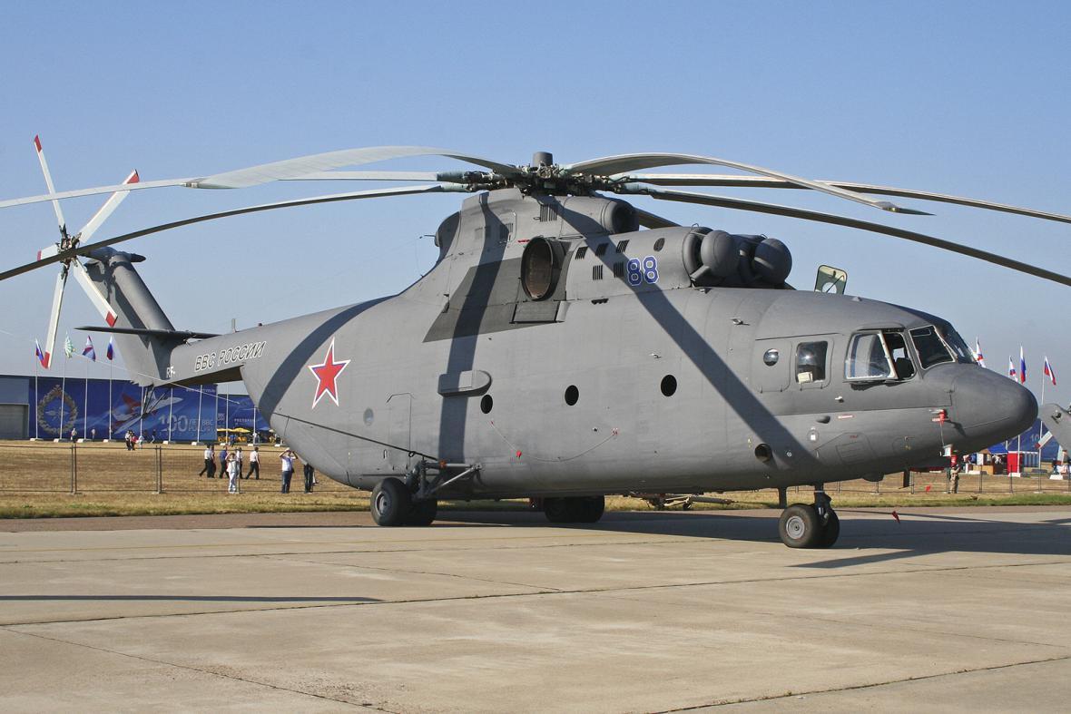 Mil Mi-26 je ruský super těžký transportní vrtulník z konce 70. let 20. století.