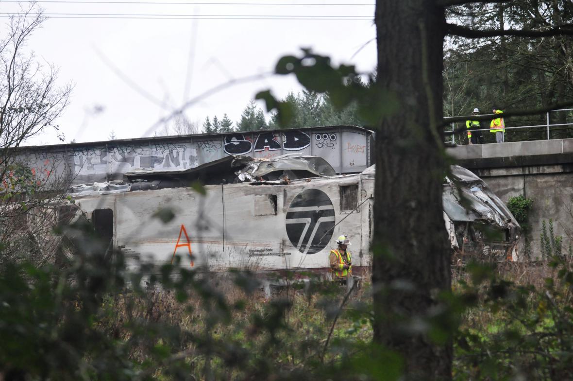 Nehoda vlaku v USA