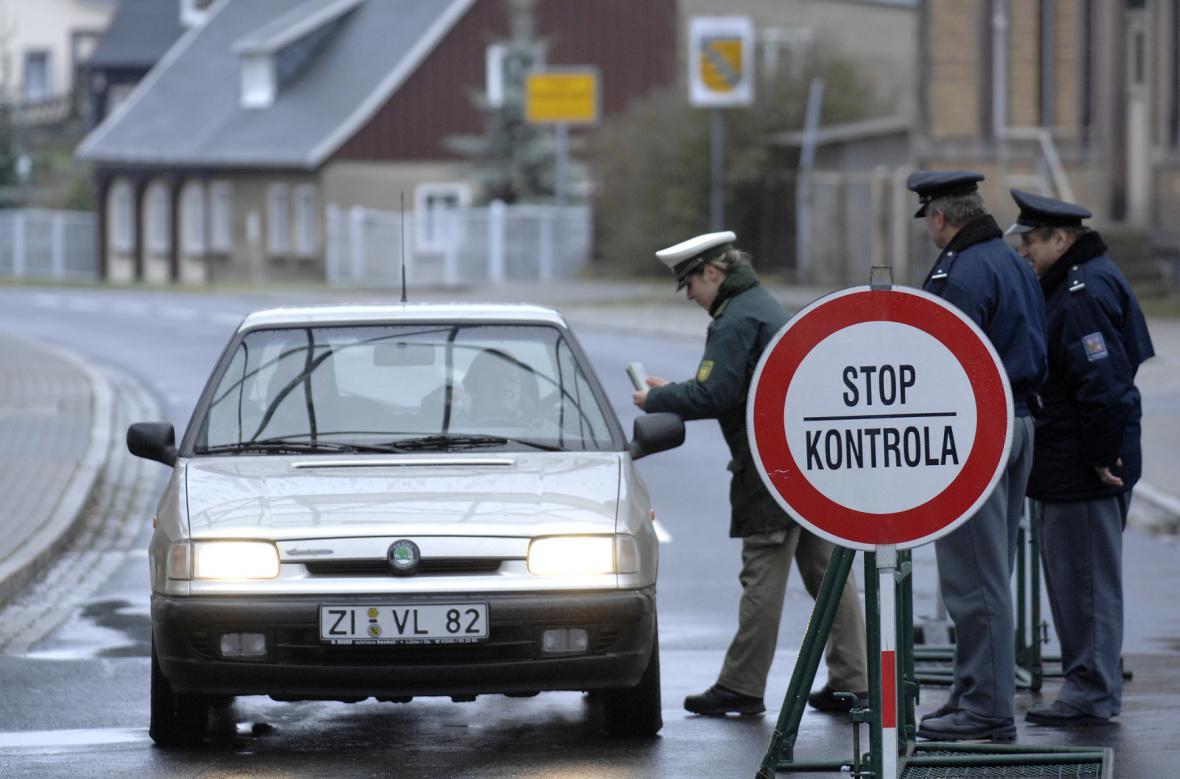 České hraniční přechody před vstupem do Schengenu