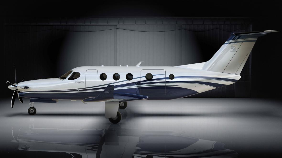 Letoun Cesna Denali s motorem Advanced Turboprop