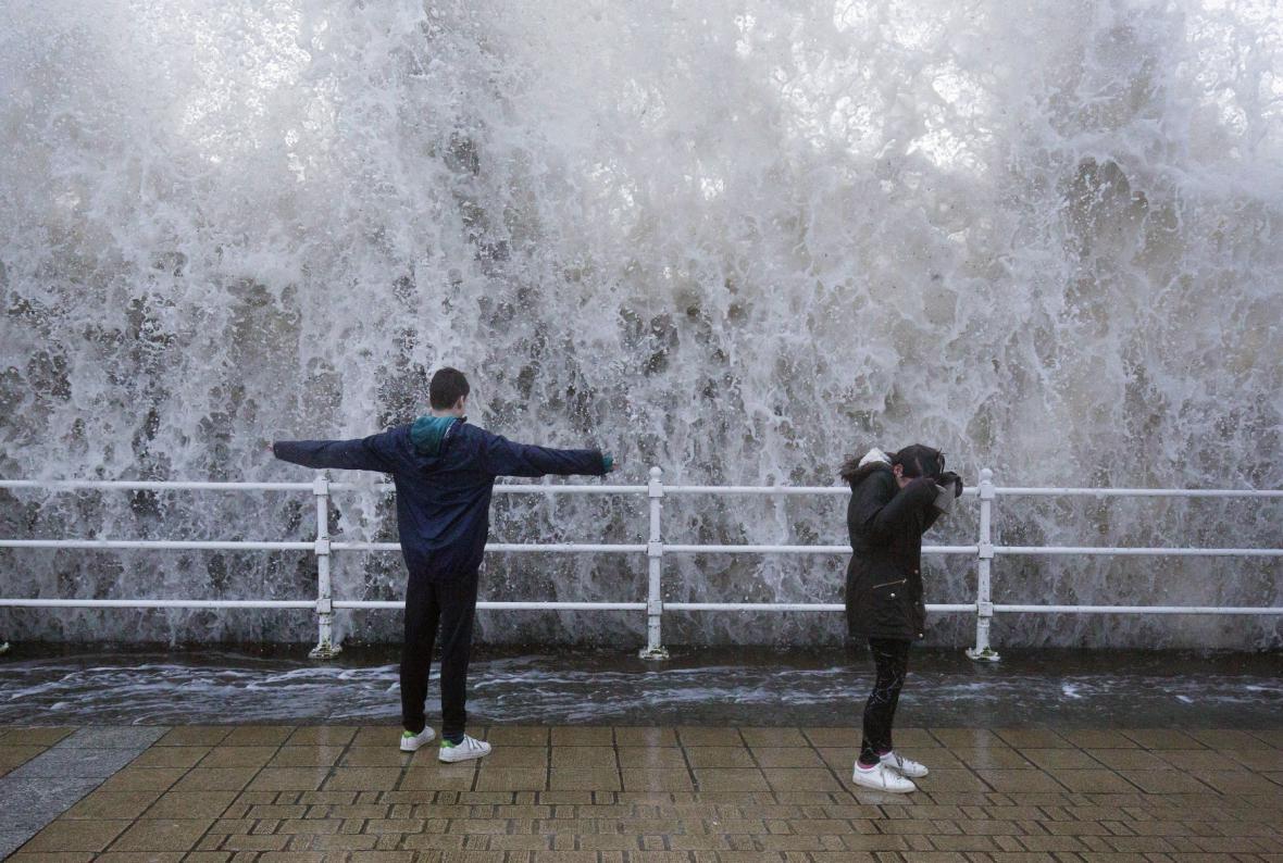 Bouře ve Walesu