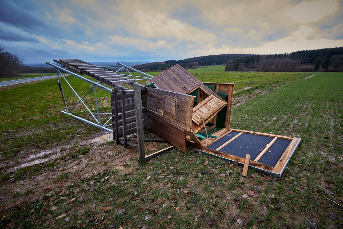 Bouře v západní Evropě