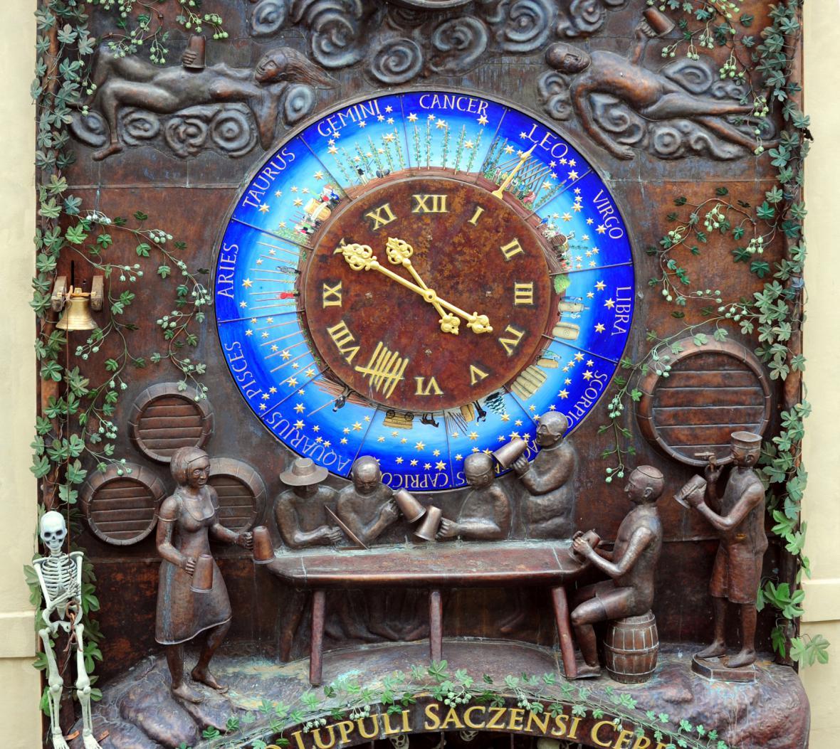 Pivní orloj v Žatci