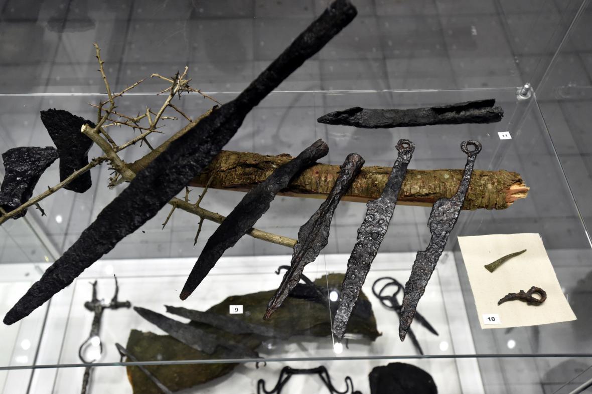 Nálezy amatérských archeologů vystavené v Muzeu jihovýchodní Moravy