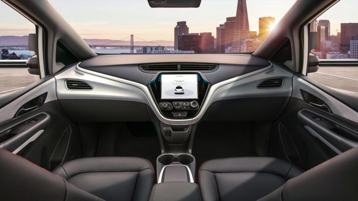 Autonomní automobil Cruise AV