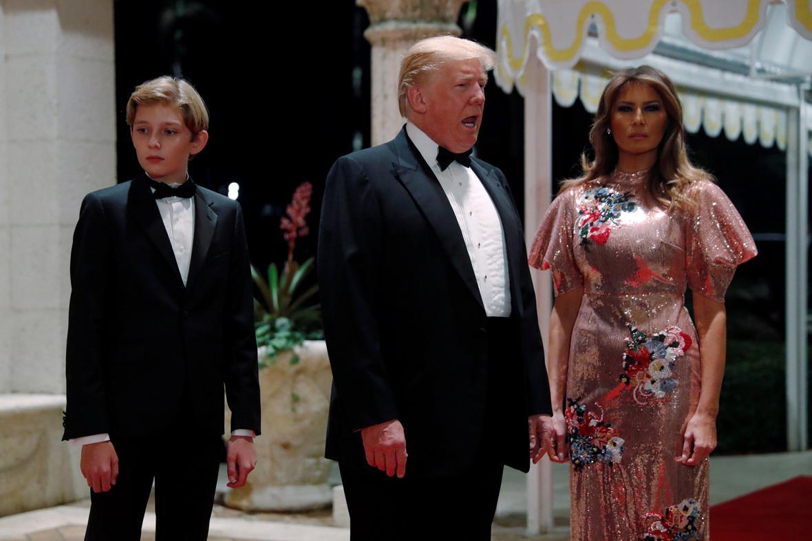 Rok Donalda Trumpa ve funkci prezidenta USA
