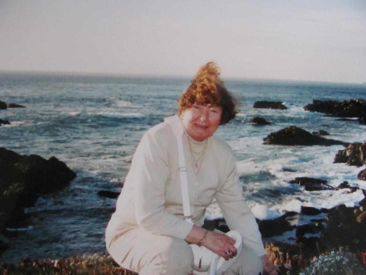 Učitelka ve škole v Monterey
