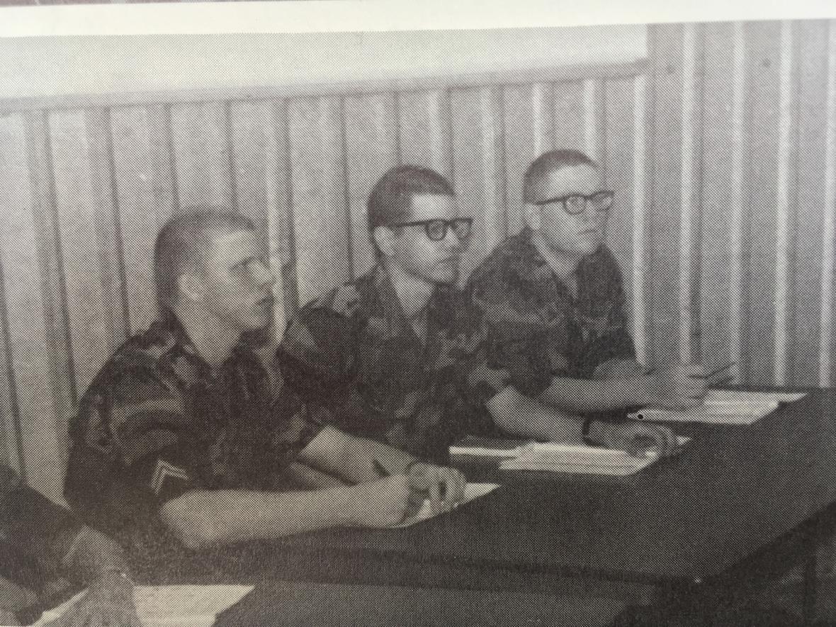 Vojáci v Monterey se učili česky