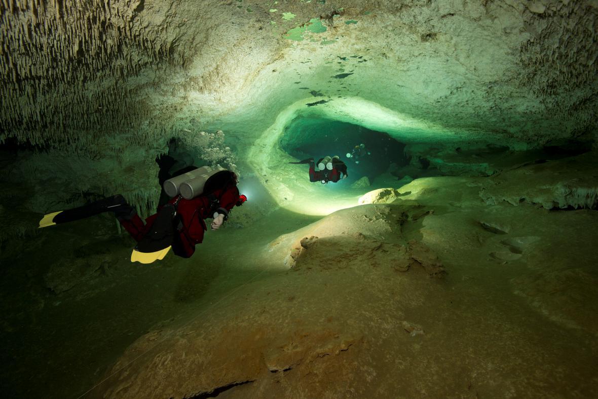 Největší zatopená jeskyně světa